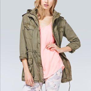 Aritzia Talula trooper utility jacket olive green